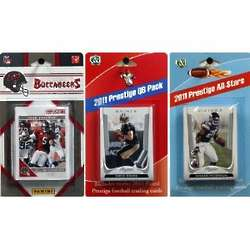 Tampa Bay Buccaneers 2011 Score Team and Quarterback Cards