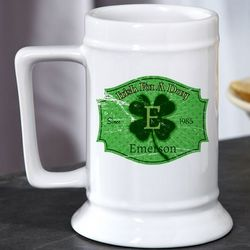 Irish for a Day Personalized Beer Stein