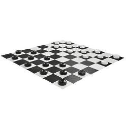 Giant Garden Checkers Set