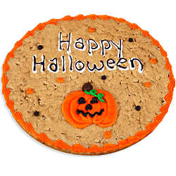 Happy Halloween Cookie Cake