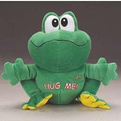 Hug Me Plush Frog
