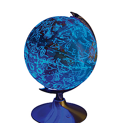 Celestial Globe - Globe by Day Constellations by Night