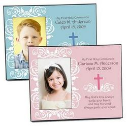 First Communion and Confirmation Picture Frame