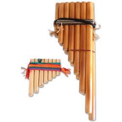 Inca Serenade Bamboo Zampona Panpipe Set