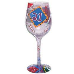 Twenty-One Wine Glass