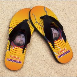 Personalized Face Smash Pro Fit Photo Sandals