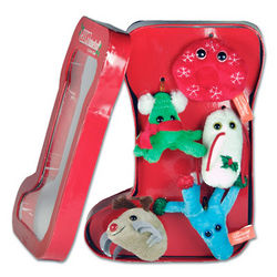 GIANTmicrobes Christmas Ornaments Gift Set