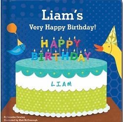 My Very Happy Birthday Book for Boy