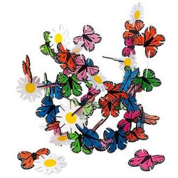 Connectagons Butterflies and Flowers Building Toy