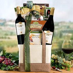 Crossridge Peak Red Wine Duet Gift Basket