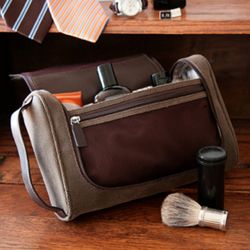 Meridian Toiletry Bag with 5-Piece Manicure Set