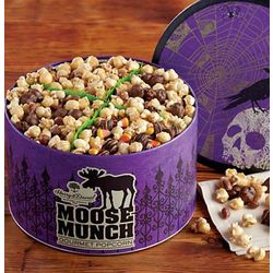 Halloween Moose Munch Popcorn Gift Tin