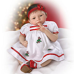 Noelle's First Christmas Lifelike Baby Doll