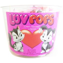 Cherry Flavored Luv Pops