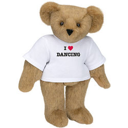 "15"" I Heart Dancing Teddy Bear"