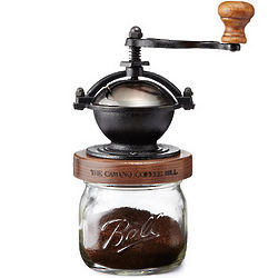 Steampunk Hand Crank Coffee Mill