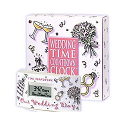 Wedding Time Countdown Clock