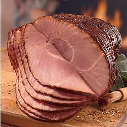 Honey Glazed Spiral Sliced Ham 5-7-lbs