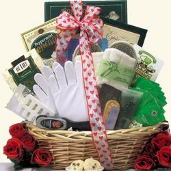 Hand & Foot Therapy Valentine's Day Spa Gift Basket