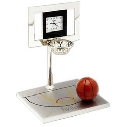Basketball Court Clock