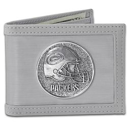 Green Bay Packers Stainless Steel Wallet