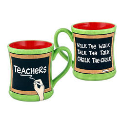 Chalk the Chalk Teacher's Mug