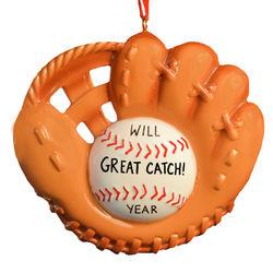 Baseball Glove Christmas Ornament