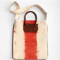 Dip-Dyed Hand Woven Travel Tote