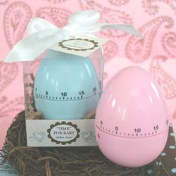 Egg Timer Baby Shower Favor