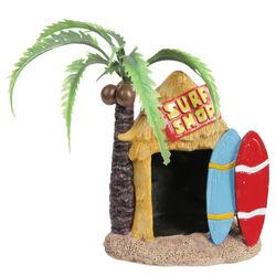 Tiki Surf Shop Aquarium Ornament