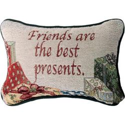 Friends are the Best Presents Pillow