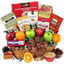 Holiday Basket of Fruit