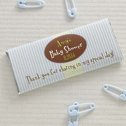 Personalized It's A Boy Candy Wrappers