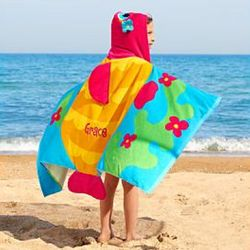 Kids Personalized Hooded Beach Towel