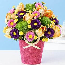 Celebrate Her Radiance Flower Bouquet
