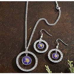 NFL Rhinestone Jewelry Set