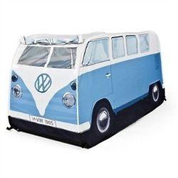 Kid's Blue Volkswagen Camper Bus Pop-up Tent
