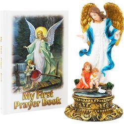 Guardian Angel Statue & Prayer Book