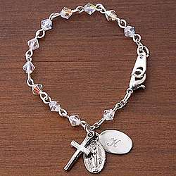 Baby's First Rosary© Personalized Bracelet