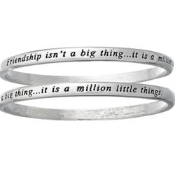 Friendship Isn't Sentiment Bangle