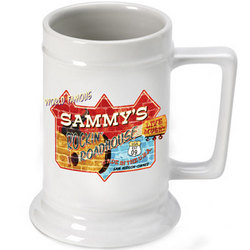Personalized Roadhouse Beer Stein