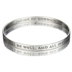 All Shall Be Well Bangle Bracelet