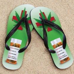 Personalized Self Medication Beacher Sandals