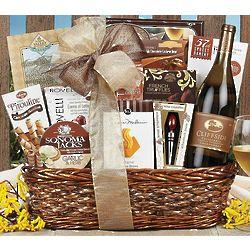 Cliffside Chardonnay Bon Appetit Gift Basket