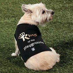 King of the Playground Dog Shirt