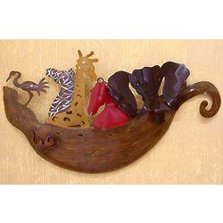 Noah's Ark Iron Wall Adornment