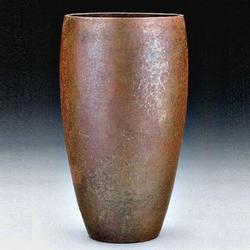 Hammered Copper van Erp Vase