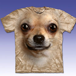 Chihuahua Dog Face T-Shirt