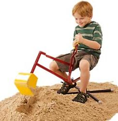 Sit-On Sand Digger Toy