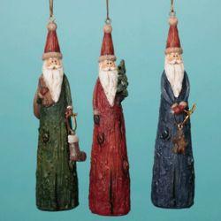 Old World Santa Ornaments